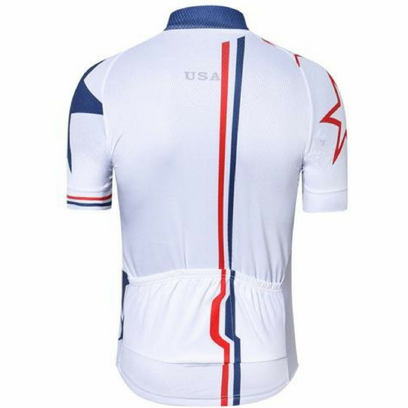 a4751fab6 White America Cycling Jersey – The Cycling Fever