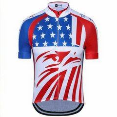 Red Eagle Usa Cycling Jersey