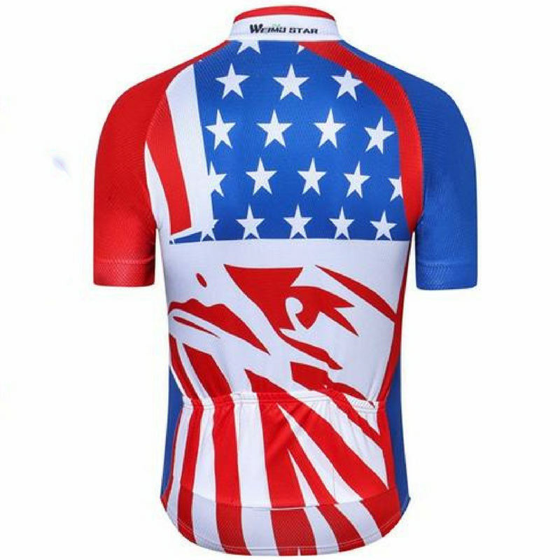 Red Eagle Usa Cycling Jersey – The Cycling Fever d13aac461