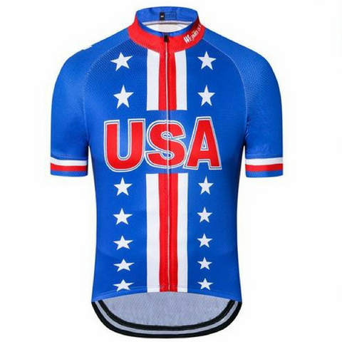 USA Blue Star Cycling Jersey