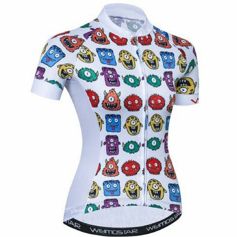 Monsters Cycling Jersey for Women