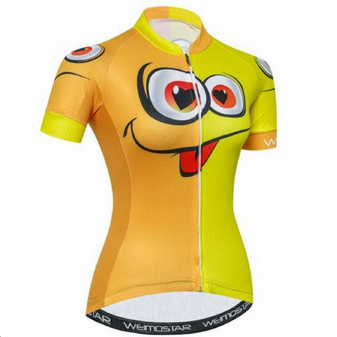 Take Out The Tongue Cycling Jersey for Women
