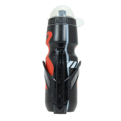 Water Bottle With Plastic Glass Fiber Holder - The Cycling Fever - 4
