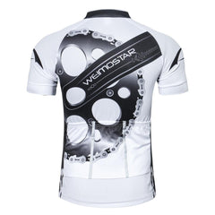 New White Montainpeak Cycling Jersey