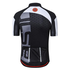 Chrono Black Cycling Jersey