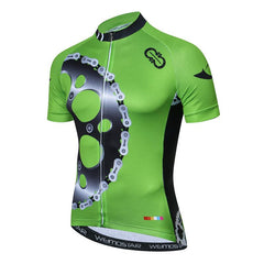New Green Montainpeak Cycling Jersey