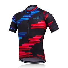 Blue and Red Cycling Jersey