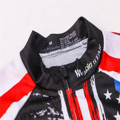 USA Honor The Fallen Long Sleeve Cycling Jersey
