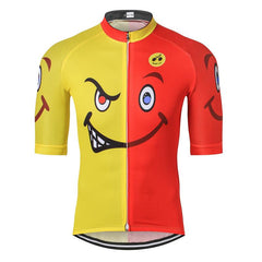 Smiley Face Cycling Jersey