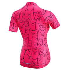 Pink Icon Cycling Jersey for Women