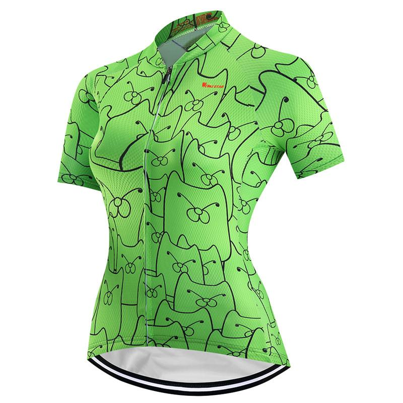 Green Icon Cycling Jersey for Women