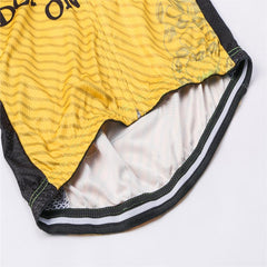 Don't Tread On Me Yellow Cycling Jersey