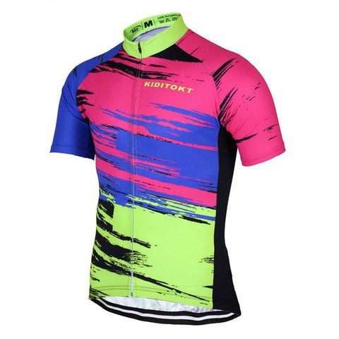 Colorful and Stylish Cycling Jersey