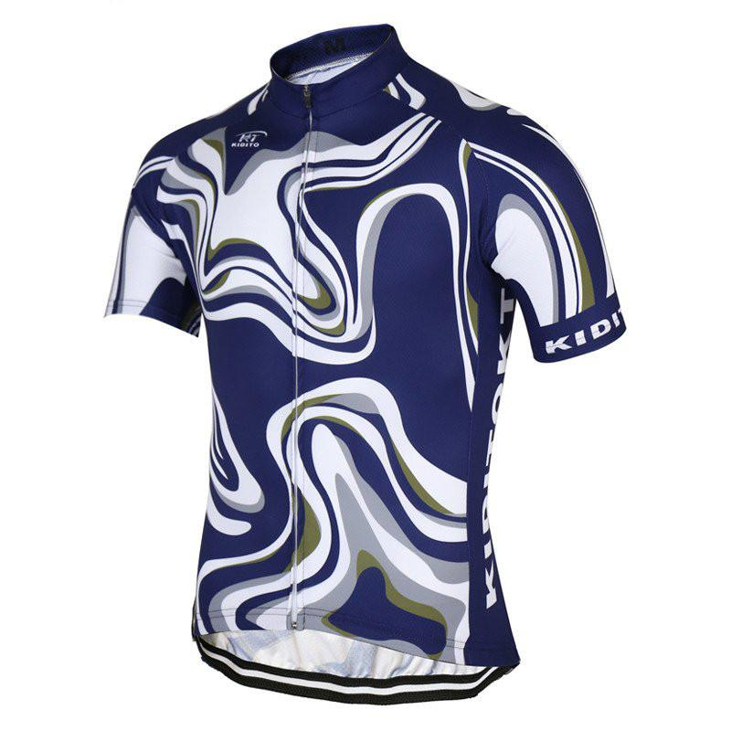 KIDITOKT cool blue n white - The Cycling Fever - 1