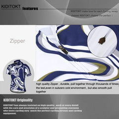 KIDITOKT cool blue n white - The Cycling Fever - 4