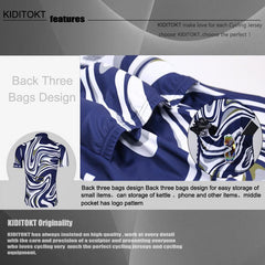 KIDITOKT cool blue n white - The Cycling Fever - 5