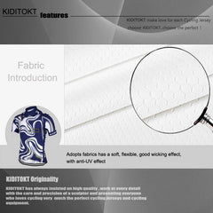 KIDITOKT cool blue n white - The Cycling Fever - 3