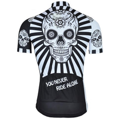 Spectacular Skull Cycling Jersey