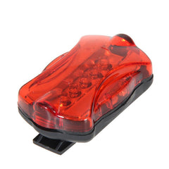 Bicycle Speedometer and 5 LED Bike Head Light and Bicycle Rear Light Lamp - The Cycling Fever - 5