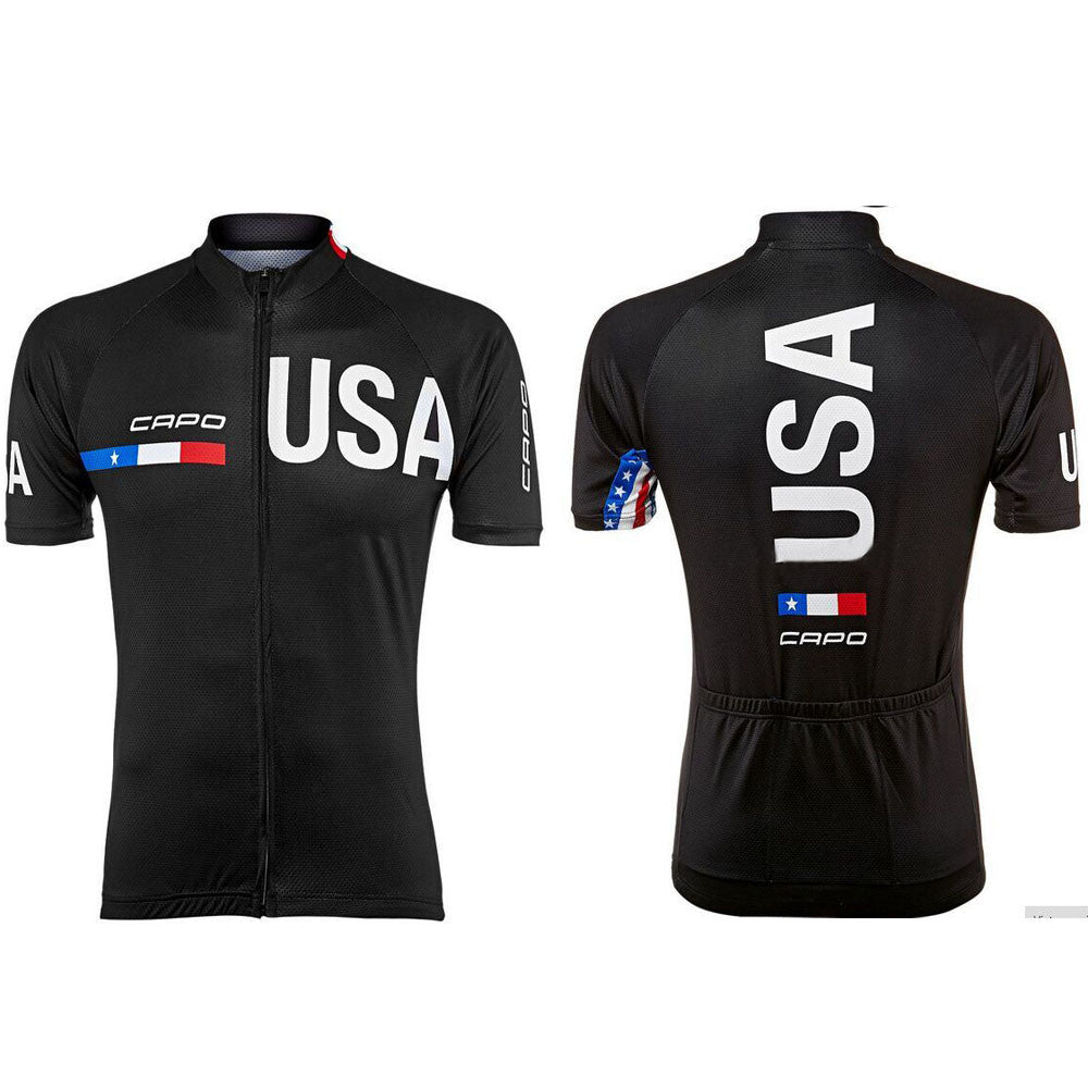 Team USA Biking Jersey - The Cycling Fever