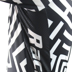 Fashion Black & White Cycling Jersey - The Cycling Fever - 5