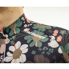 Flower Cycling Jersey - The Cycling Fever - 6