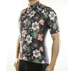 Flower Cycling Jersey - The Cycling Fever - 2