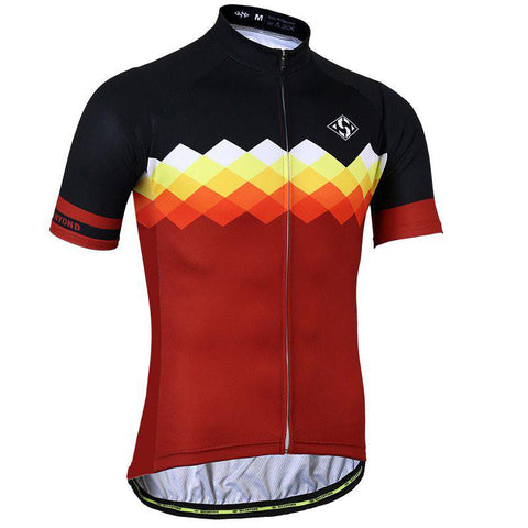 Black & Brown Cycling Jersey