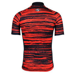Beautiful Red Cycling Jersey - The Cycling Fever - 2