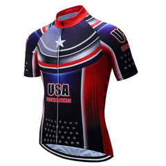 USA Breathable Cycling Jersey