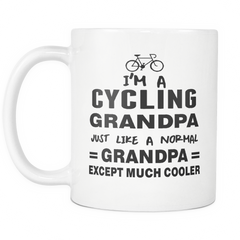 I'm a Cycling Grandpa Mug
