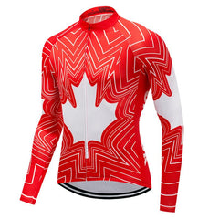 Canada Pro Team Long Sleeve Cycling Jersey