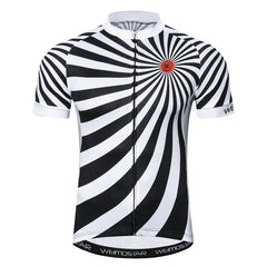 White Grinder Cycling Jersey