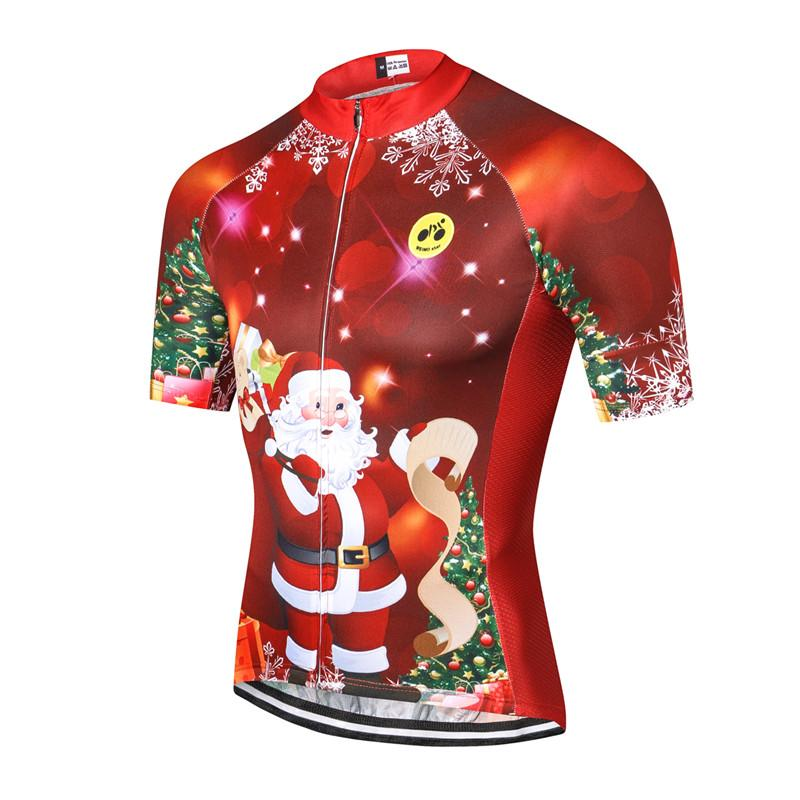 Christmas Cycling Jersey