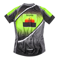 Rider Green Cycling Jersey