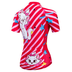 Sweet Cat Cycling Jersey for Women