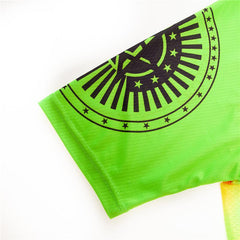 Green & Orange Cycling Jersey
