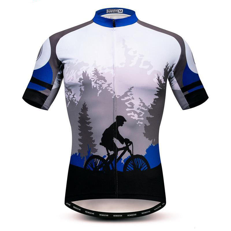 Rider In The Forest Cycling Jersey