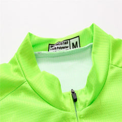 Orange & Green Cycling Jersey