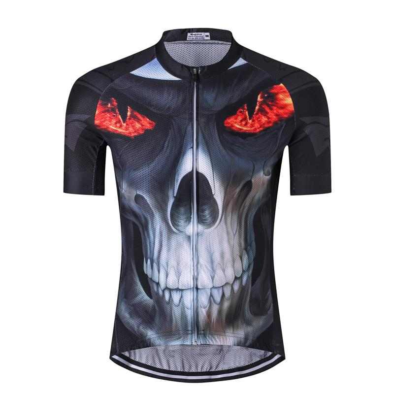 Burning Skull Cycling Jersey