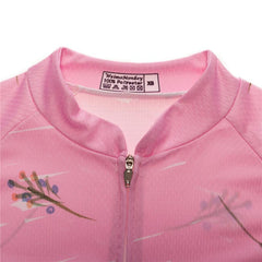 Pink Bicycle Cycling Jersey for Women