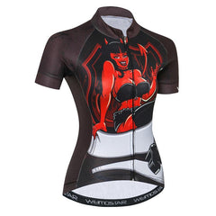 Devil Cycling Jersey for Women