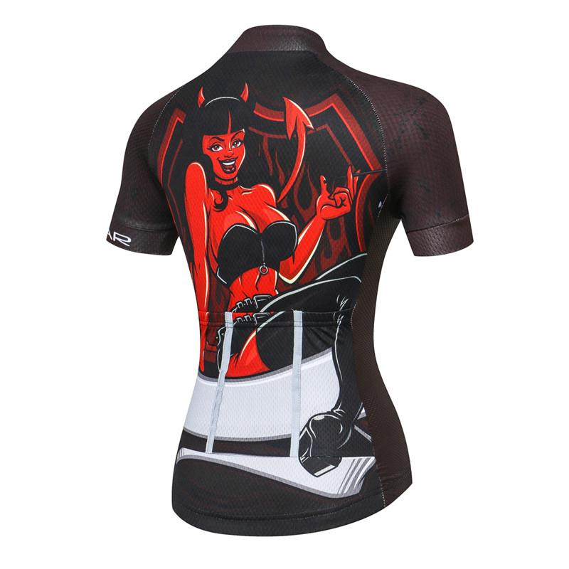 cd442e5bf Devil Cycling Jersey for Women – The Cycling Fever