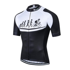 Evolution Of Men Cycling Jersey