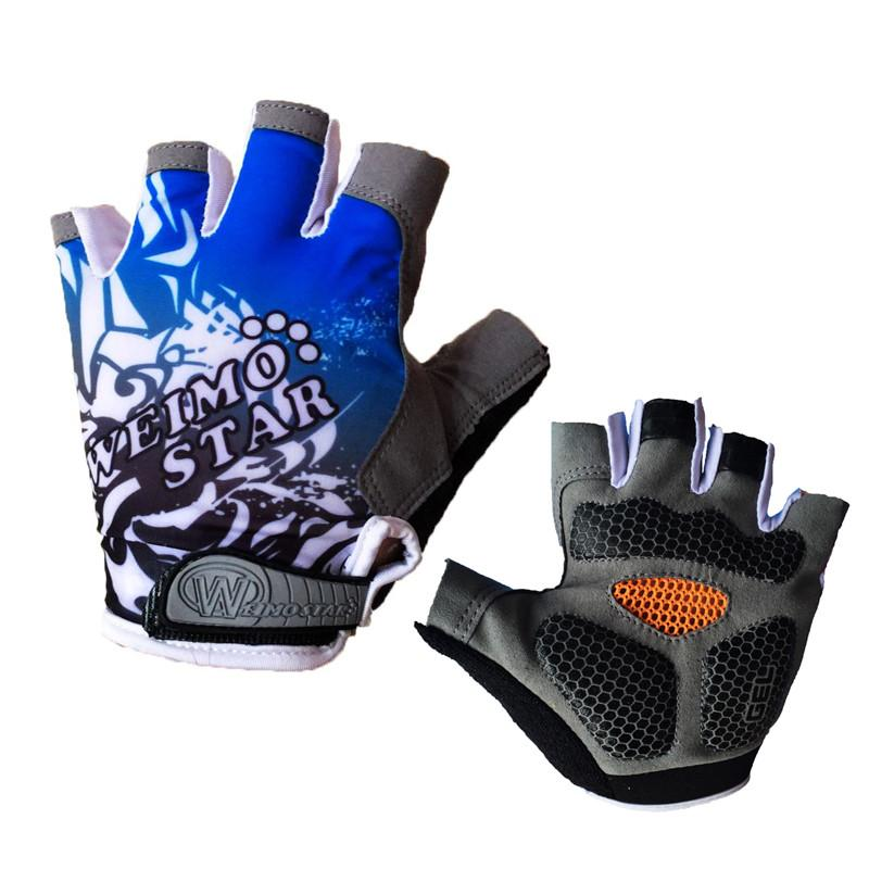 Breathable Cycling Gloves with Gel Pad