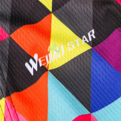 Colorful Fashion Long Sleeve Cycling Jersey