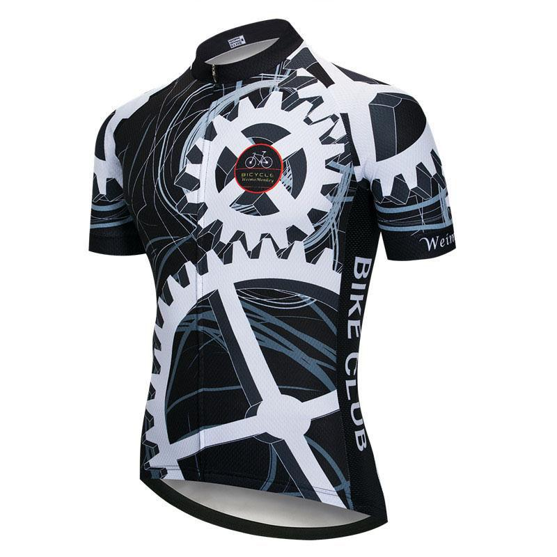 Mechanical Gear Cycling Jersey
