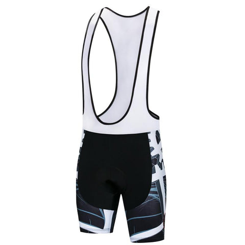 4D Gel Mechanical Gear Bib Shorts