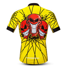 Red Skull Cycling Jersey