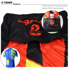 Orange Maillot Cycling Jersey - The Cycling Fever - 4
